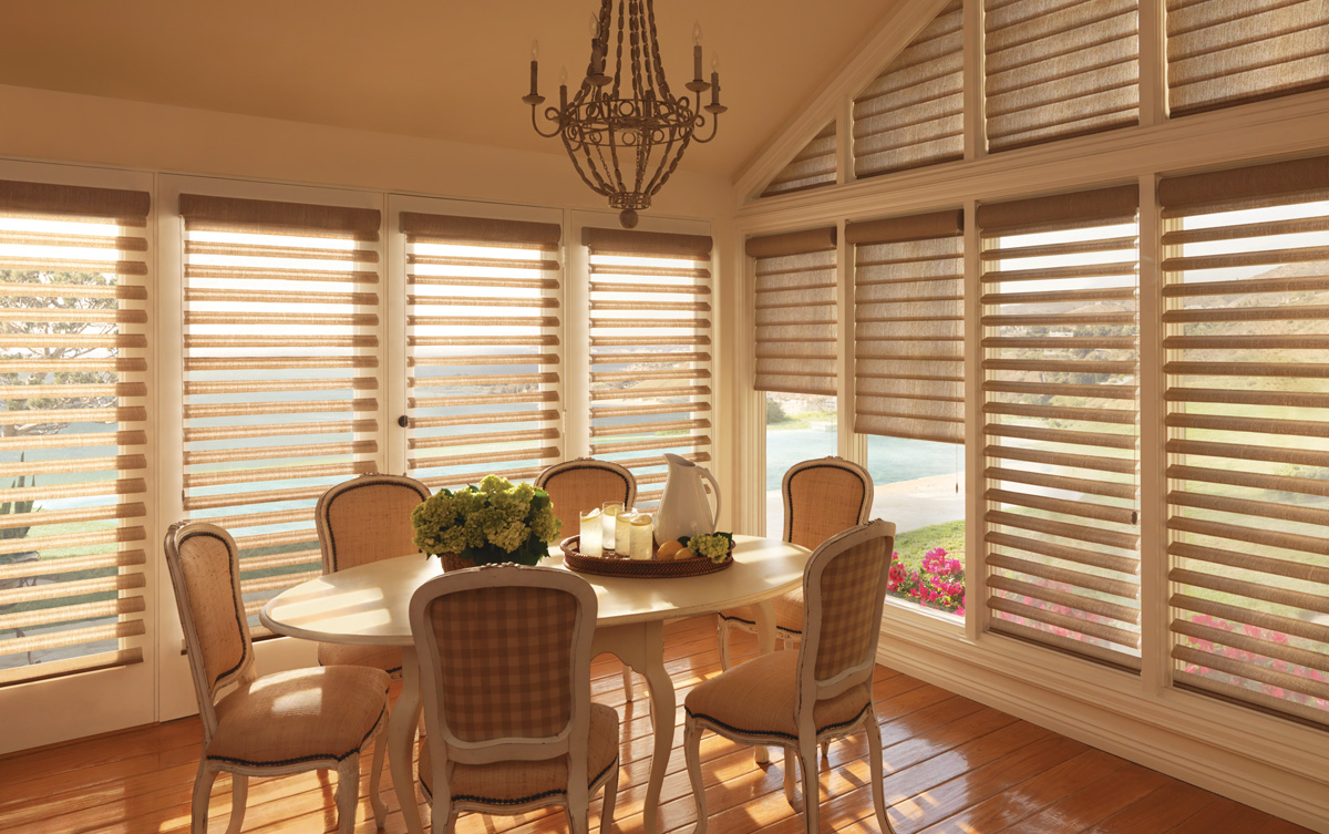 Protect your drapery from sun damage with window shades for Shades and window treatments