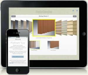Platinum App from Hunter Douglas