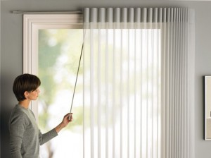 Beautiful Luminette® Privacy Sheers For Sliding Doors