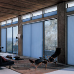 Window Coverings for Sliding Glass Doors - Honeycomb Shades
