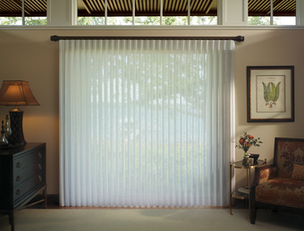 Window Coverings For Sliding Glass Doors   Privacy Sheers