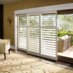 Window Coverings for Sliding Glass Doors - Shutters