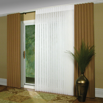 Delicieux Window Coverings For Sliding Glass Doors   Modern Draperies