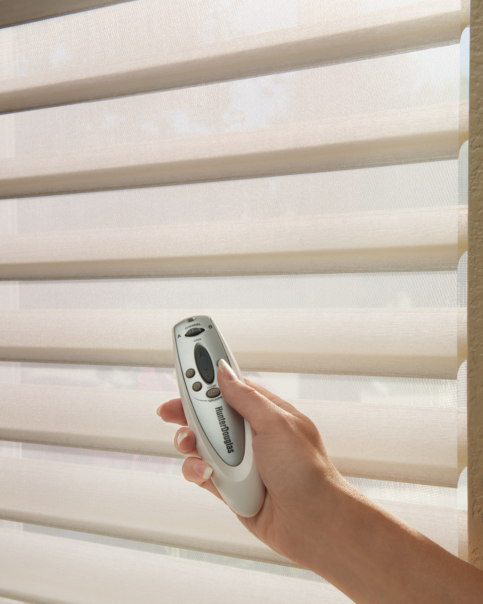 Window treatment motorization archives west palm beach for Motorized blinds shades